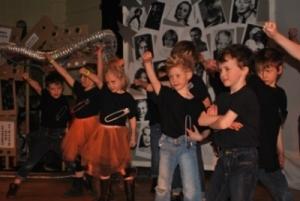 Dunannie pupils perform Rewind Time