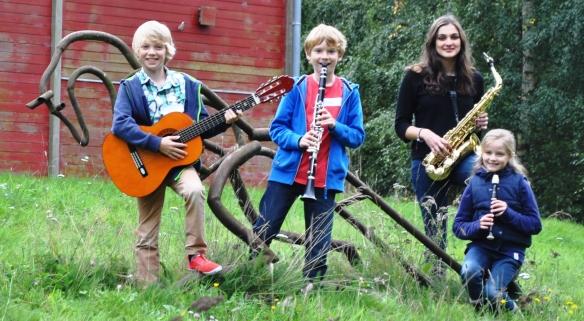 Oakwood pupils at Tudor Music Workshop